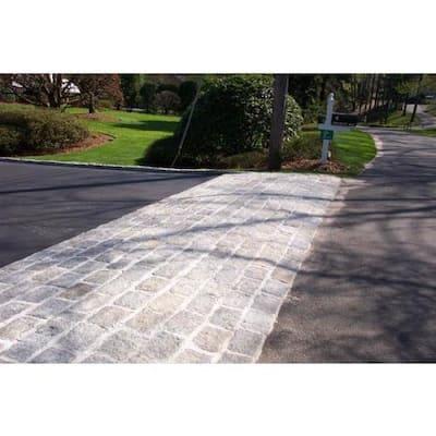 Cobblestone 8 in. x 4 in. x 4 in. Granite Gray Edger Kit (100 pieces/66 Lin Ft)
