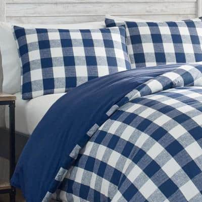 Lakehouse Plaid Cotton Comforter