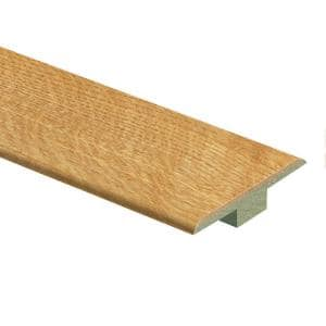 Natural Oak 3/8 in. Thick x 1-3/4 in. Wide x 72 in. Length Laminate T-Molding