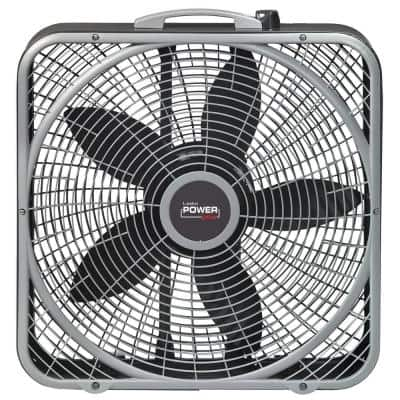 20 in. Power Plus Box Fan