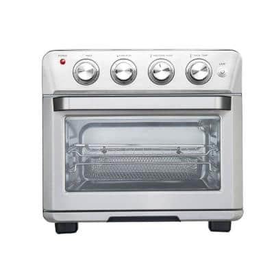 1700-Watt Stainless Steel Countertop Multi-Function Air Fryer Rotisserie Convection Oven and Dehydrator