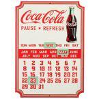 Coca-Cola Calendar Embossed Sign W/ Magnets