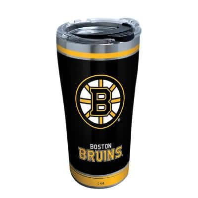 NHL Boston Bruins Shootout 20 oz. Stainless Steel Tumbler with Lid