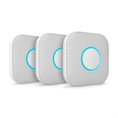 Nest Protect - Battery Smoke and Carbon Monoxide Alarm (3-Pack)