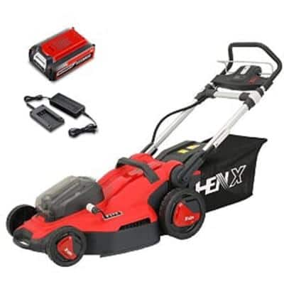 20 in. 40-Volt Cordless Battery Hand Walk Behind Push Mower with Battery/Charge Included