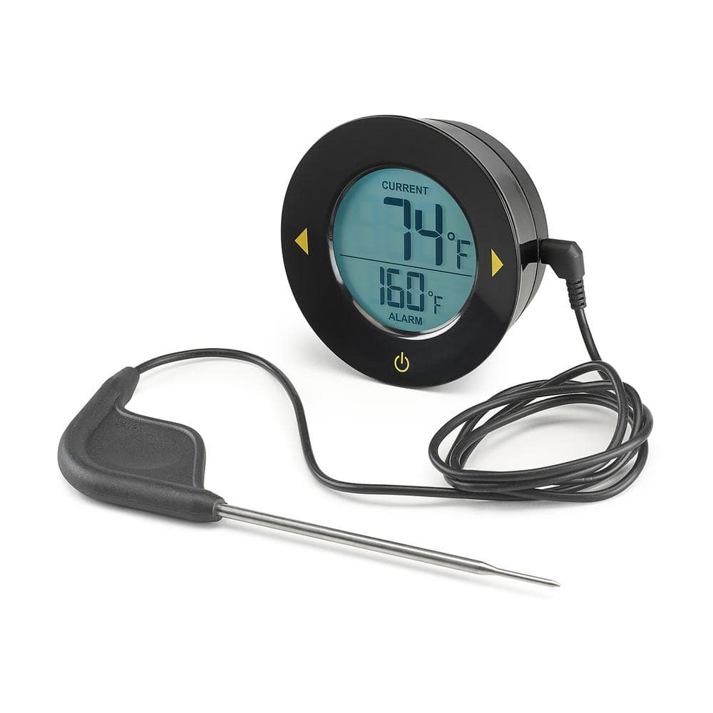 THM-362-86 Oven Meat Thermometer with Heat Resistant Probe and Digital