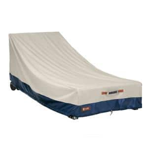 Mainland 78 in. D x 35.5 in. W x 33 in. H Patio Day Chaise Cover