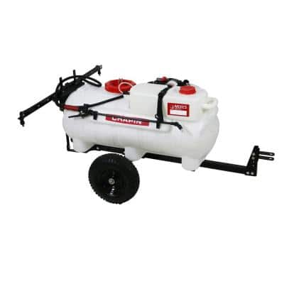 25 Gal. Mixes On Exit Tow Behind Sprayer