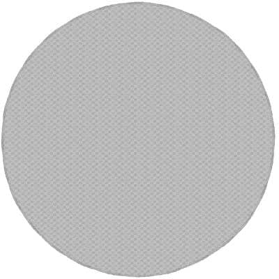Medallion Silver 7 Ft. 6 In. Round Area Rug