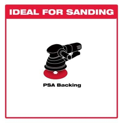 6 in. 600-Grit Sanding Disc with PSA Backing (100-Pack)