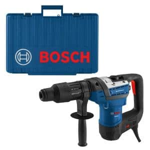 12 Amp 1-9/16 in. Corded Variable Speed SDS-Max Combination Concrete/Masonry Rotary Hammer Drill with Carrying Case