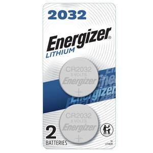2032 Batteries (2 Pack), 3V Lithium Coin Batteries