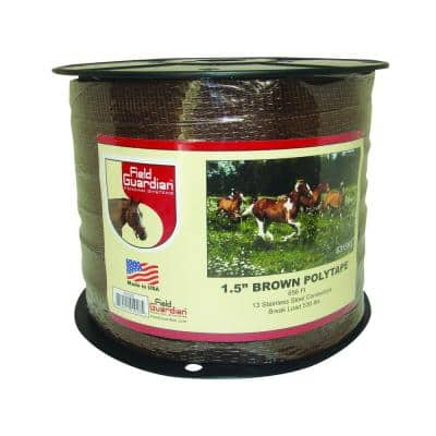 1.5 in. Brown Polytape