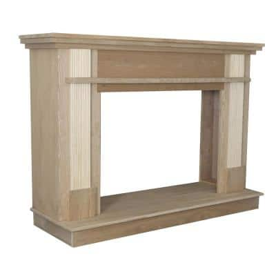Wood Fireplace Surrounds Fireplace Mantels The Home Depot