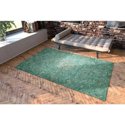 Chancellor Turquoise 10 ft. x 14 ft. Area Rug