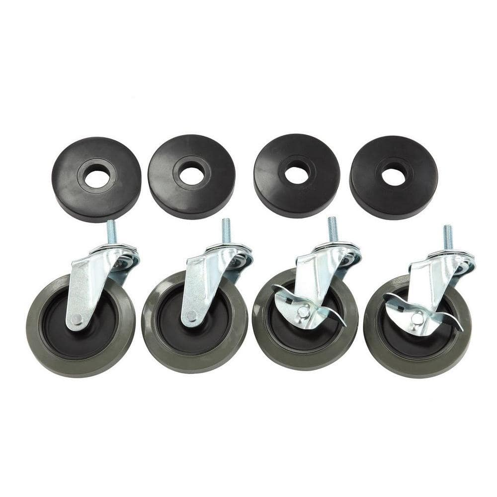 """2/"""" Swivel Caster Wheels Wheels Castor Roller Replacement Trolley Wheel"""