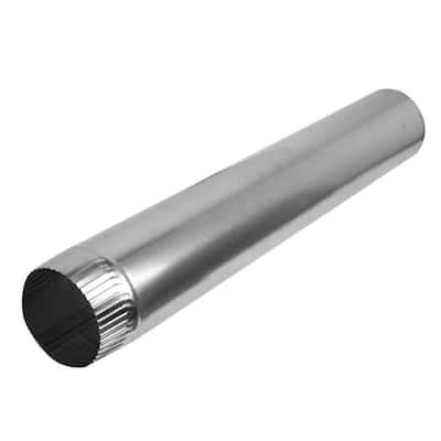 4 in. x 2 ft. Aluminum Pipe