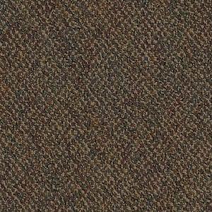 Developer Clay Loop 24 in. x 24 in. Carpet Tile Kit (18 Tiles/Case)
