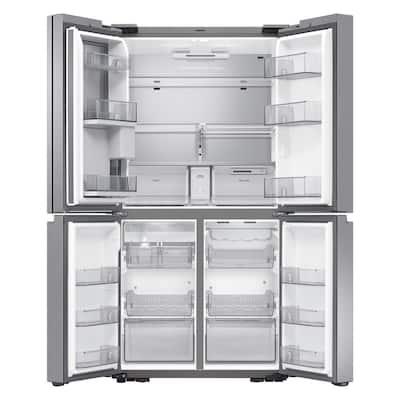 22.5 cu. ft. Family Hub 4-Door French Door Smart Refrigerator in Stainless Steel, Counter Depth