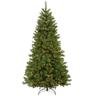 6.5 ft. North Valley Spruce Artificial Christmas Tree with 450 Lights