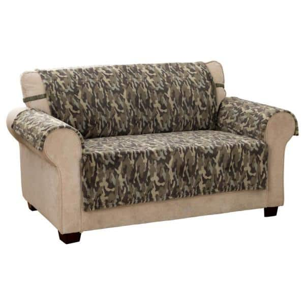 Innovative Textile Solutions Camo Plush, Camo Furniture Covers