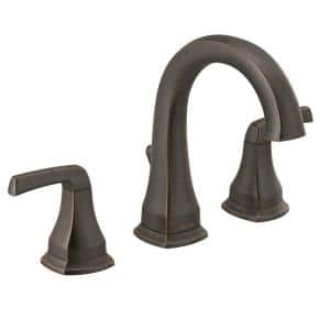 Portwood 8 in. Widespread 2-Handle Bathroom Faucet in Venetian Bronze