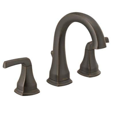 Portwood 8 in. Widespread 2-Handle Bathroom Faucet in Venetian Bronze