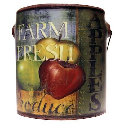 Farm Fresh Ceramic Candle Juicy Apples