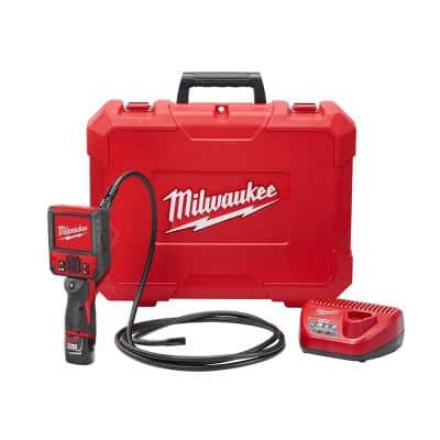 M12 12-Volt Lithium-Ion Cordless M-SPECTOR FLEX 9 ft. Inspection Camera Cable Kit with One 1.5Ah Battery and Hard Case