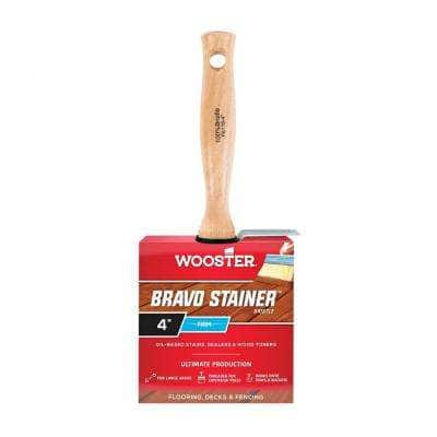 4 in. Bravo Stainer Bristle Brush