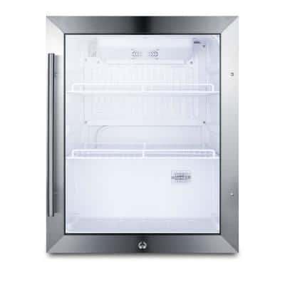 19 in. 2.1 cu. ft. Commercial Refrigerator in Black