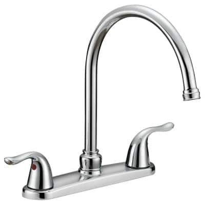 Impression Collection 2-Handle Standard Kitchen Faucet in Chrome