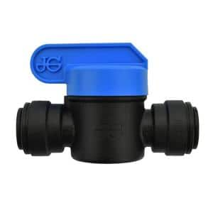 3/8 in. OD Push-to-Connect Valve (10-Pack)