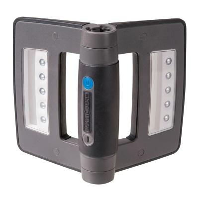 Mini Compact Folding Rechargeable LED Work Light, Metallic