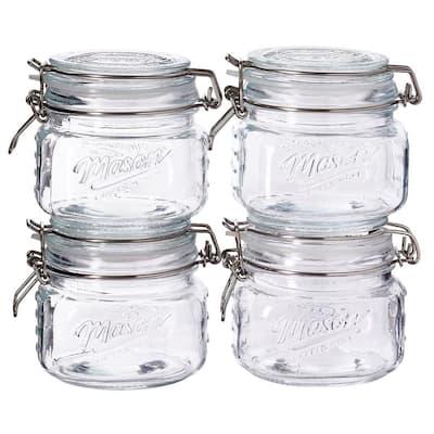16.9 oz. Preservative Jar with Lid (Set of 4)