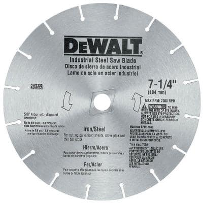 7-1/4 in. Iron/Steel Saw Blade