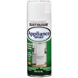 12 oz. Appliance Epoxy Gloss White Spray Paint (6-Pack)