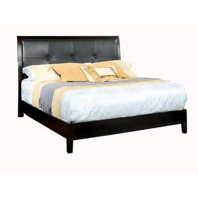 Enrico-I in Espresso Queen Bed
