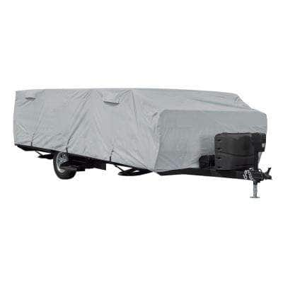 Over Drive PermaPRO Folding Camping Trailer Cover, Fits 12 ft. - 14 ft. L Trailers