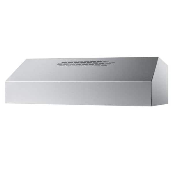 Summit Appliance 24 In Convertible Range Hood In Stainless Steel Ult2824ss The Home Depot