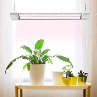 2 ft. LED Grow Light Full Spectrum 5000K Daylight and 660nm Red Linkable Indoor Plant Fixture