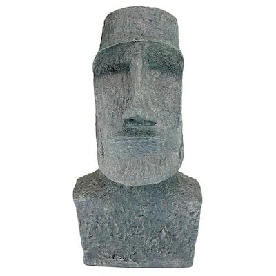 24.5 in. H Easter Island Ahu Akivi Moai Monolith Large Garden Statue