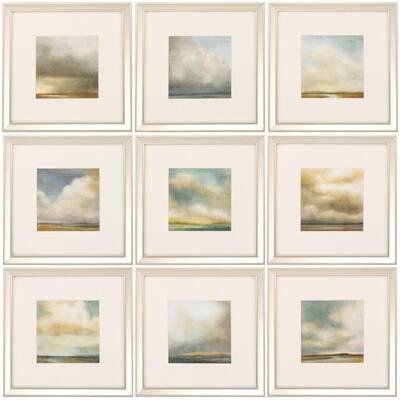 "16 in. x 14 in. ""Atmosphere PK/9"" Framed Wall Art"