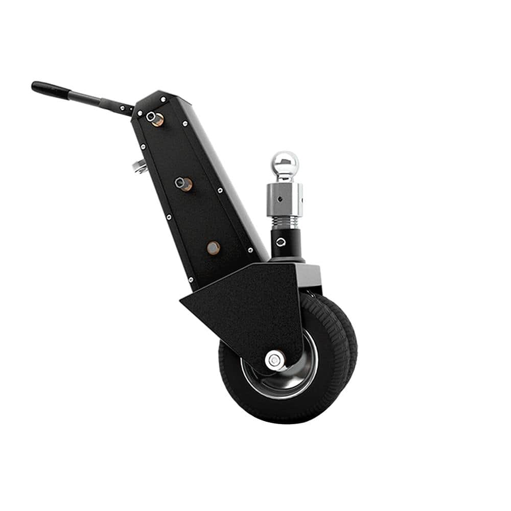 Trailer Valet 10000 lbs. Capacity Hand or Drill Powered Trailer Dolly with 2-5/16 in. Ball and Integrated Braking System