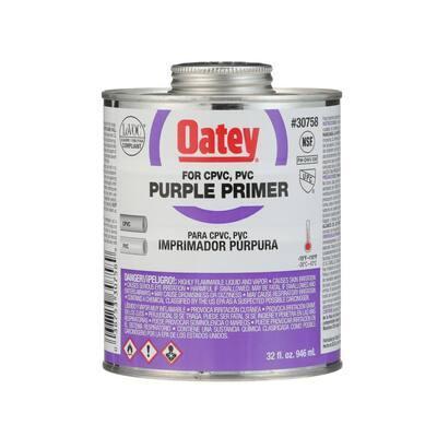 32 oz. Purple CPVC and PVC Primer