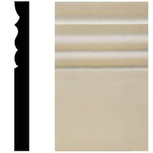 1 in. x 5-1/2 in. x 9-3/8 in. MDF Victorian Plinth Block Moulding