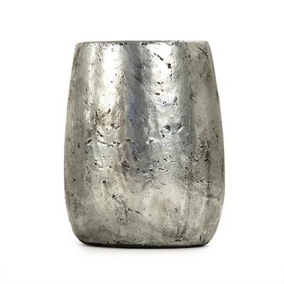 Stoneware Metallic Medium Decorative Vase