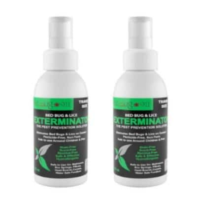 3 oz. Bed Bug Travel Spray (2-Pack)