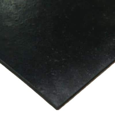 Neoprene Commercial Grade 70A - 3/16 in. Thick x 8 in. Width x 8 in. Length - Rubber Sheet (3-Pack)