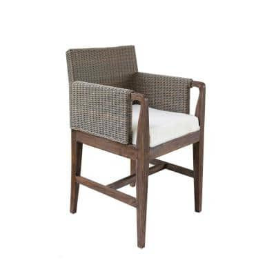 Connor Teak Outdoor Dining Chair with Cushion